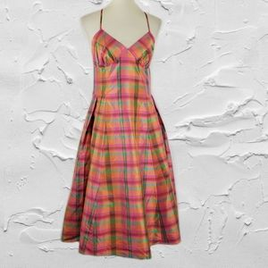 Isaac Mizrahi for target Plaid Dress with Pockets